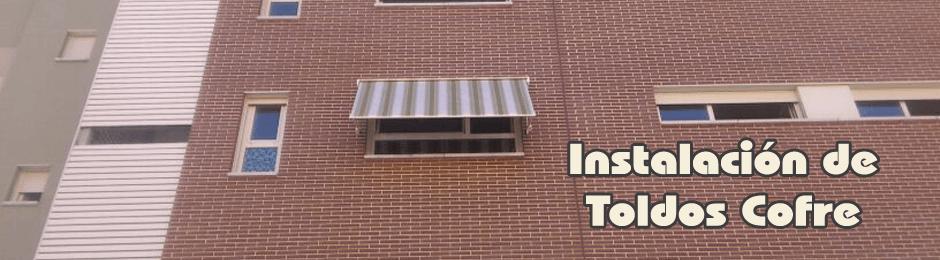 Instalación de toldos cofre